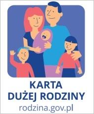 Link do Ministerstwa Rodziny i Polityki Społecznej - Karta Dużej Rodziny