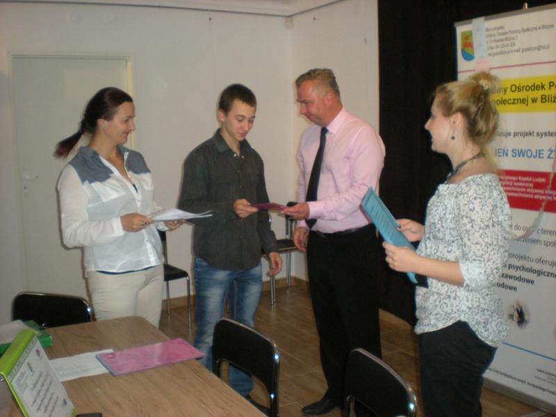 Podsumowanie zajęć w Klubie Integracji Społecznej