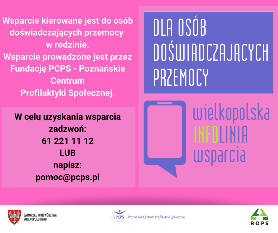 FB-Wielkopolska INFOlinia Wsparcia - PRZEMOC