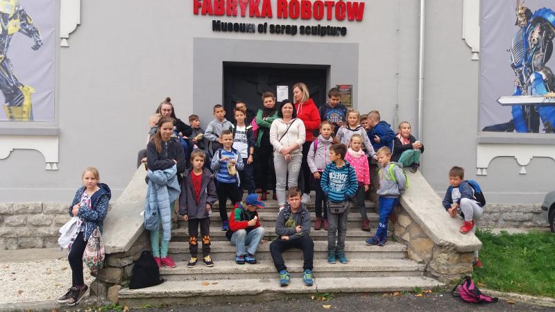 Wycieczka do Fabryki Robotów w Mosznej