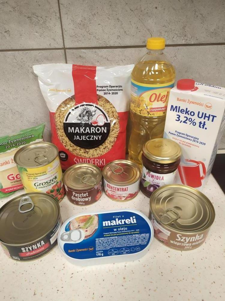 paczka żywnosciowa