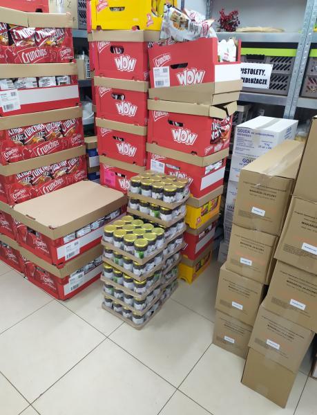 Kolejna dostawa produktów żywnościowych z Podprogramu 2019