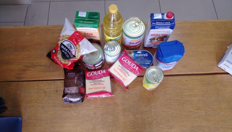 Wsparcie żywnościowe w okresie epidemi