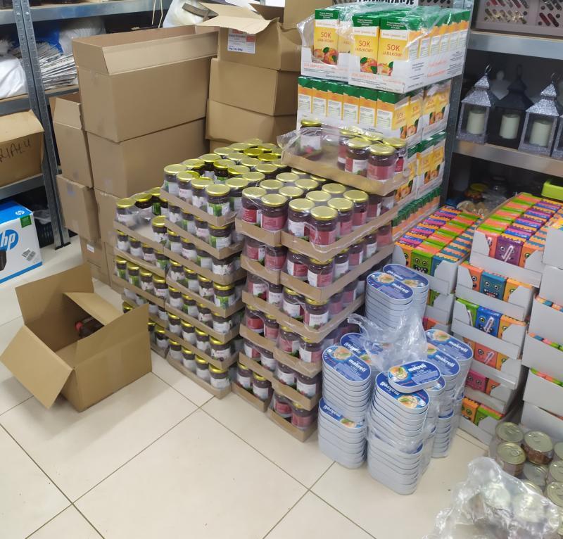 Wsparcie żywnościowe w okresie epidemi cd.