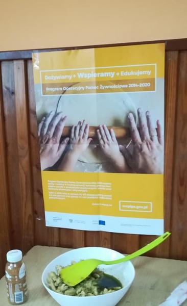 Warsztaty kulinarne  w ramach PO PŻ 2014-2020 - Podprogram 2018