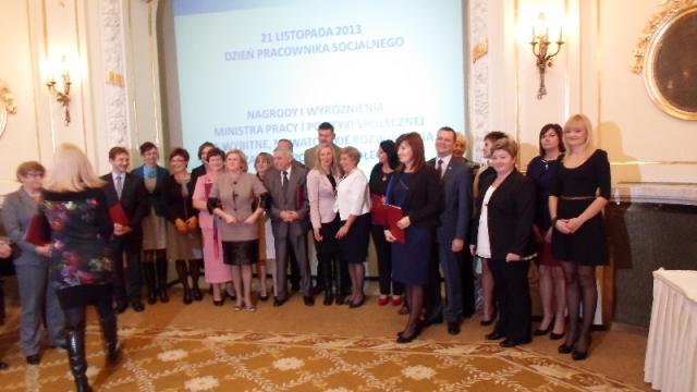 Nagroda specjalna od Ministra Pracy i Polityki Społecznej