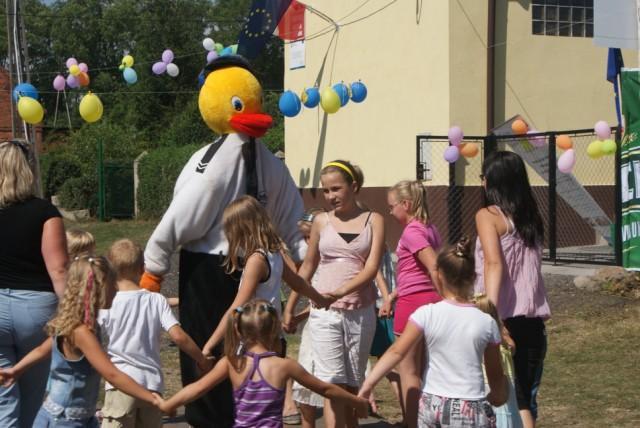 Impreza integracyjna w Bronowie