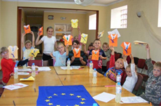 Zajęcia edukacyjno-kulturalne na świetlicy wiejskiej w Bronowie