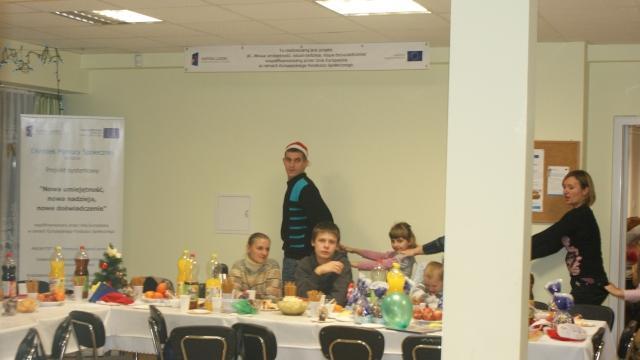 Działania o charakterze środowiskowym - Mikołaj 2009