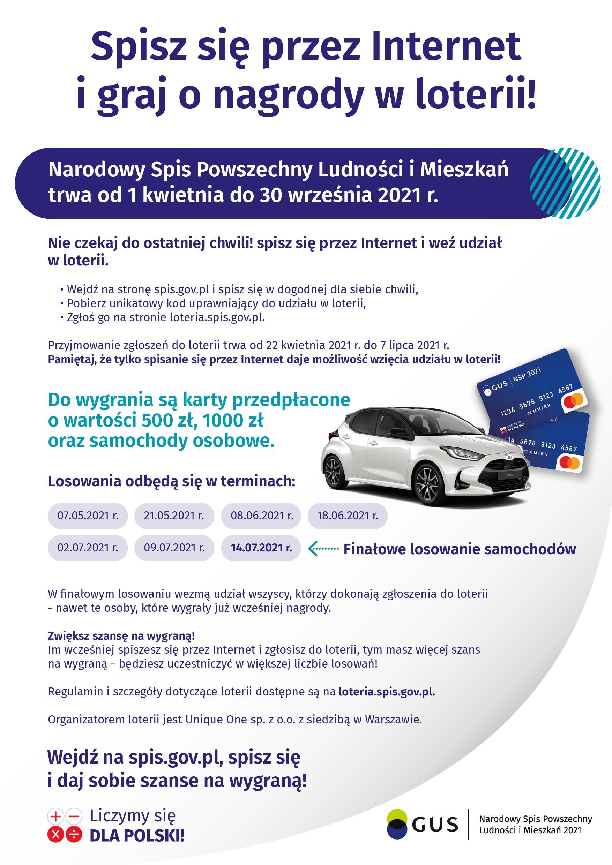 reklama Loterii NSP