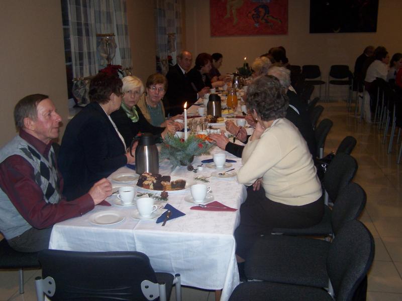 Spotkanie Noworoczne seniorów z 4 Domów Dziennego Pobytu
