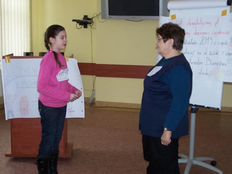 Szkolenie wolontariuszy