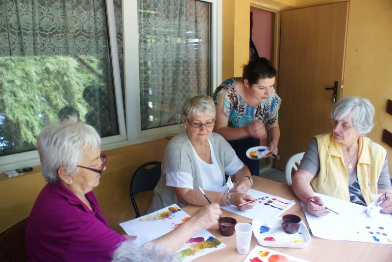 Realizacja projektu  Łączymy siły i pokolenia w ramach Programu Operacyjnego Fundusz Inicjatyw Obywatelskich 2013.