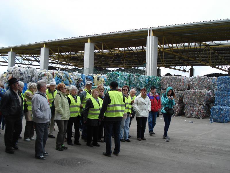 Wycieczka edukacyjna do Centrum Zagospodarowania Odpadów SELEKT w Piotrowie Pierwszym