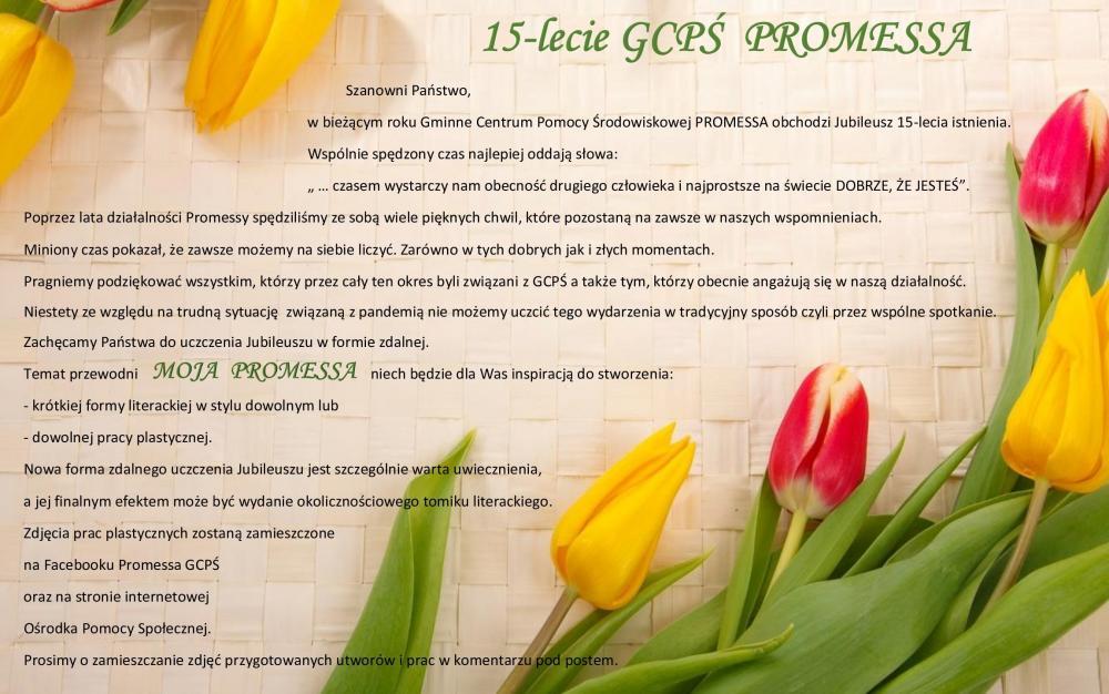 15 lecie Promessy