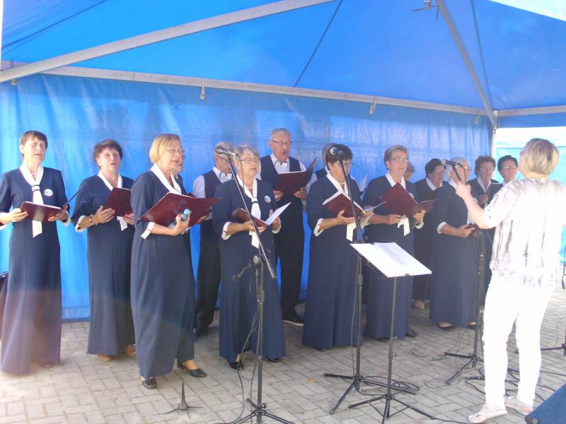 Grodziszcznie śpiewali przy lubińskim Klasztorze