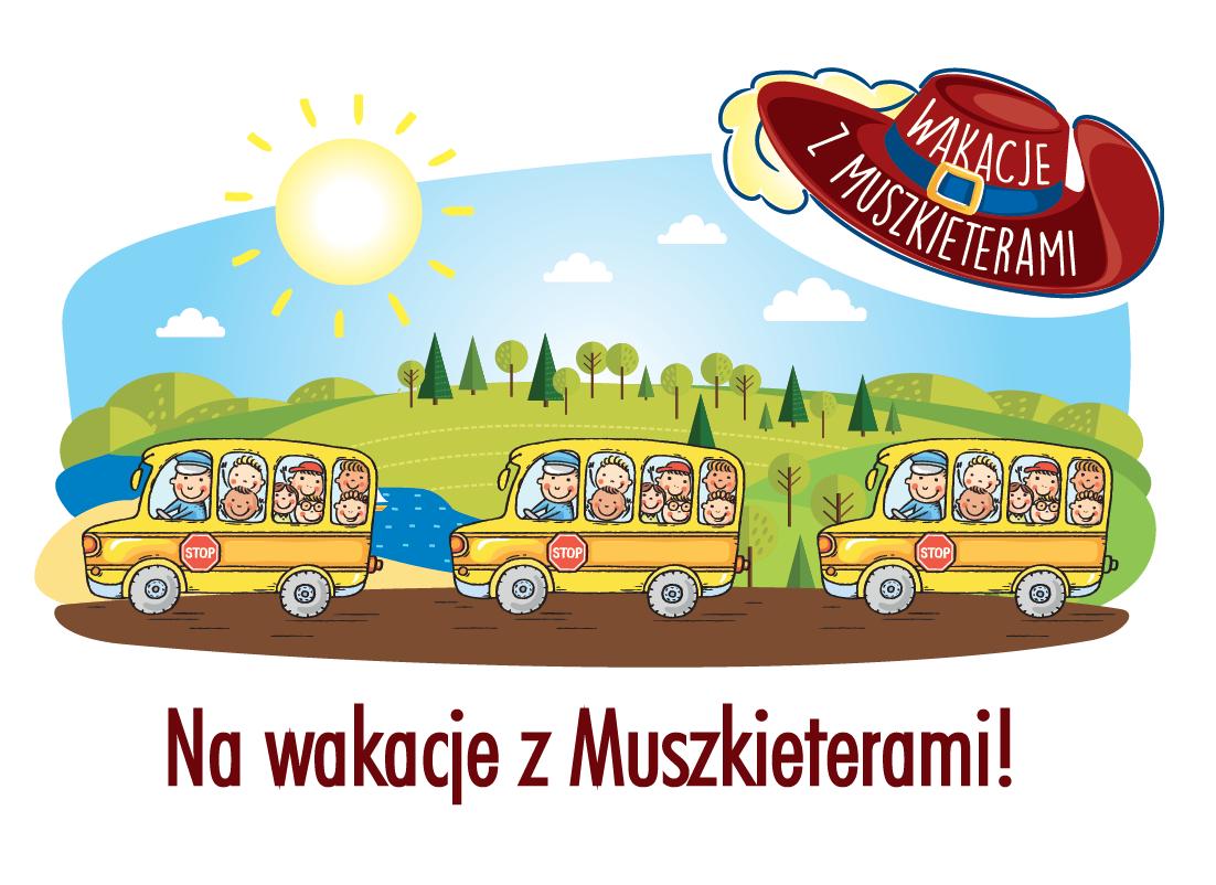 Na wakacje z Muszkieterami!