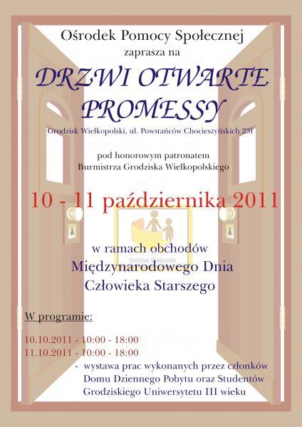 DRZWI OTWARTE PROMESSY