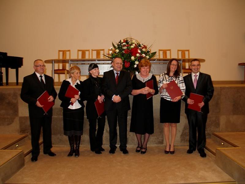 Nagroda Ministra Pracy i Polityki Społecznej dla Dyrektora Ośrodka Pomocy Społec