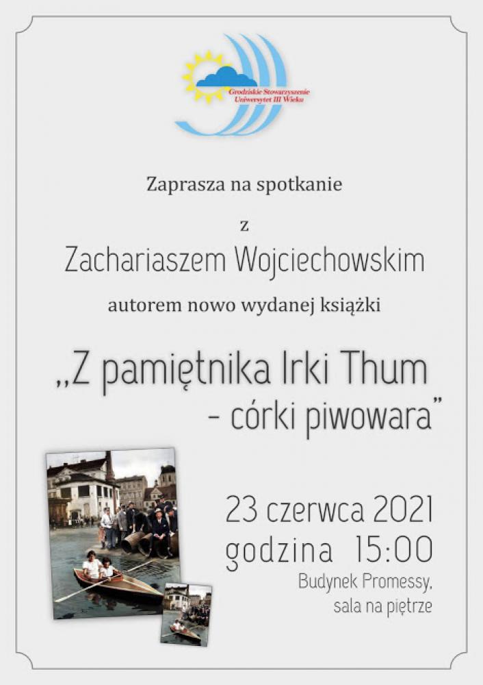 Plakat - zaproszenie na spotkanie