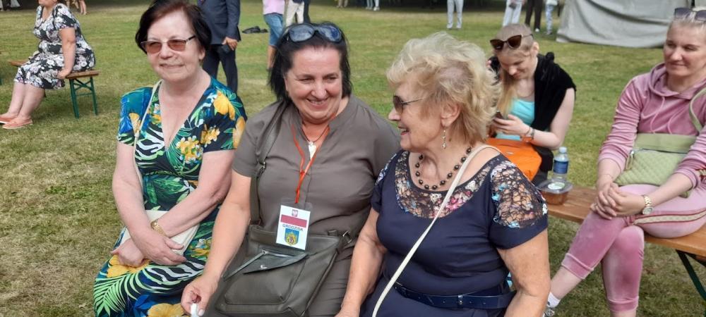 Grodziscy biegacze z seniorami na Litwie