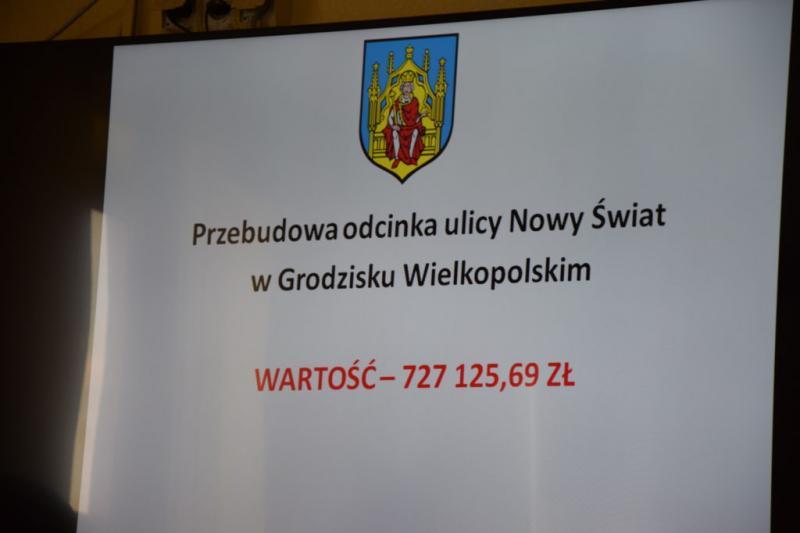 Spotkanie z Burmistrzem Grodziska Wlkp.