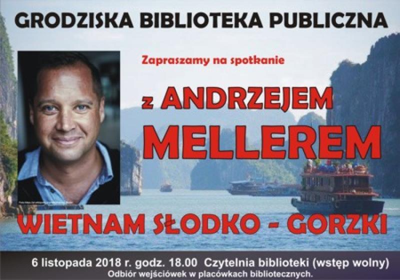 Biblioteka zaprasza na spotkanie z Andrzejem Mellerem