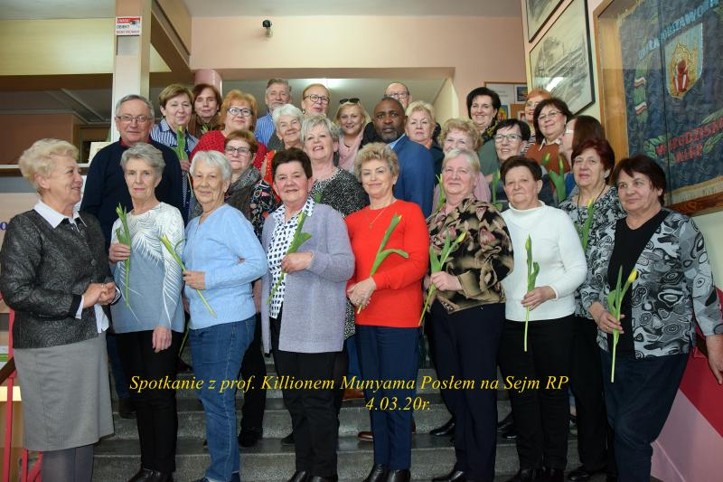 <strong>Killion Munyama - poseł na Sejm RP</strong>