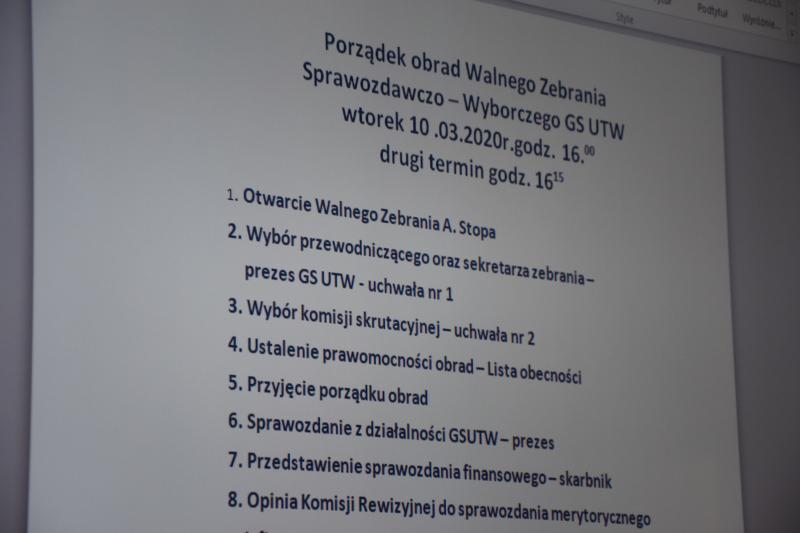 <strong> Walne Zebranie Członków</strong>
