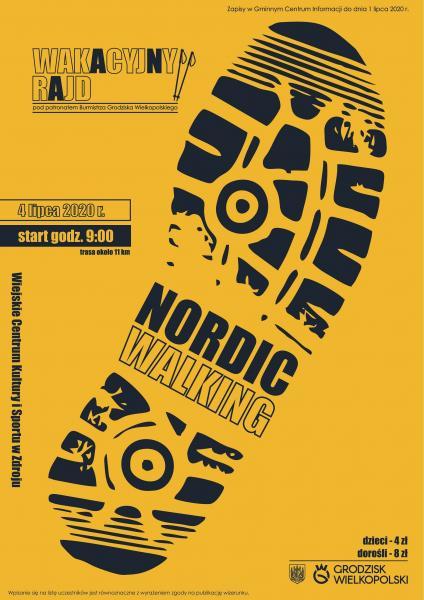 Zapraszamy na Wakacyjny Rajd Nordic Walking