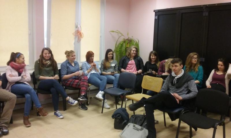 Wolontariusze - relacja z warsztatów