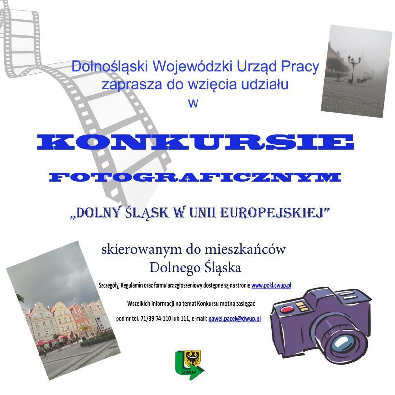 Konkurs fotograficzny Dolny Śląsk w Unii Europejskiej dla mieszkańców Dolnego Śląska