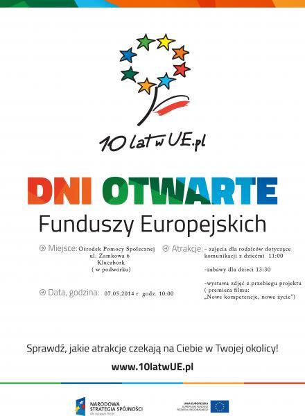 Plakat 10 lat w EU