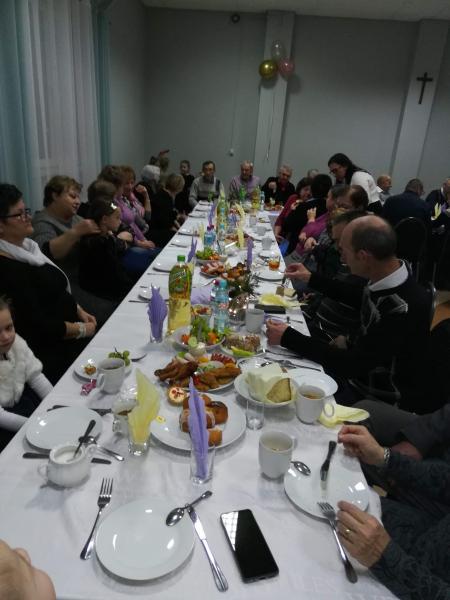 Spotkanie noworoczne Seniorów w Krzysztoforzycach.
