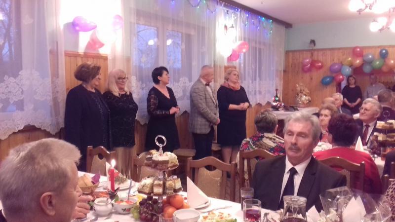 Noworoczno- Karnawałowe spotkanie Seniorów w Łuczycach.