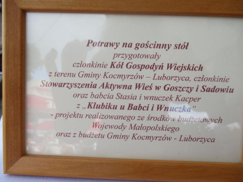 Dni Gminy Kocmyrzów-Luborzyca