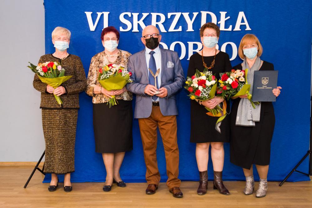 Fotografia przedstawia laureatów  plebiscytu
