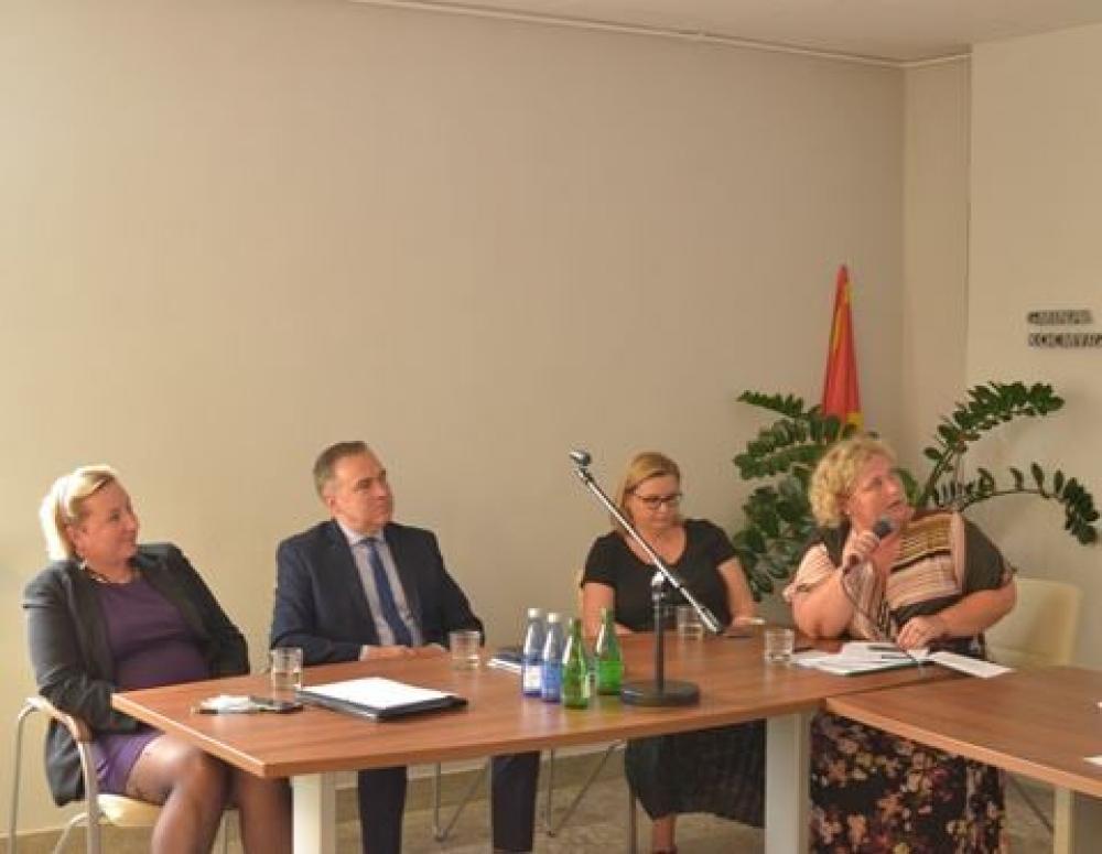 Zdjęcie z VI Sesja Gminnej Rady Seniorów.