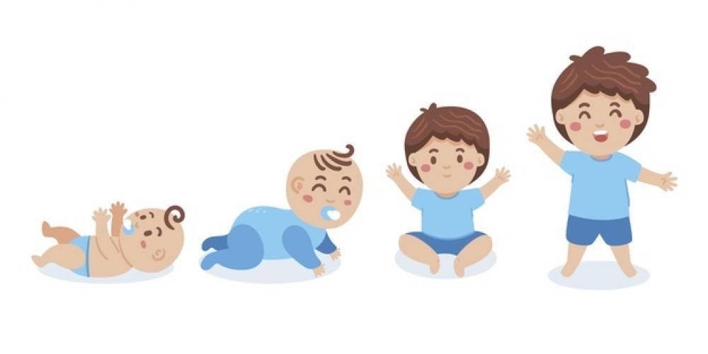 obrazek przedstawia czwórkę małych dzieci