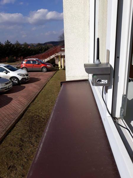 Sensory jakości powietrza na budynkach edukacyjnych