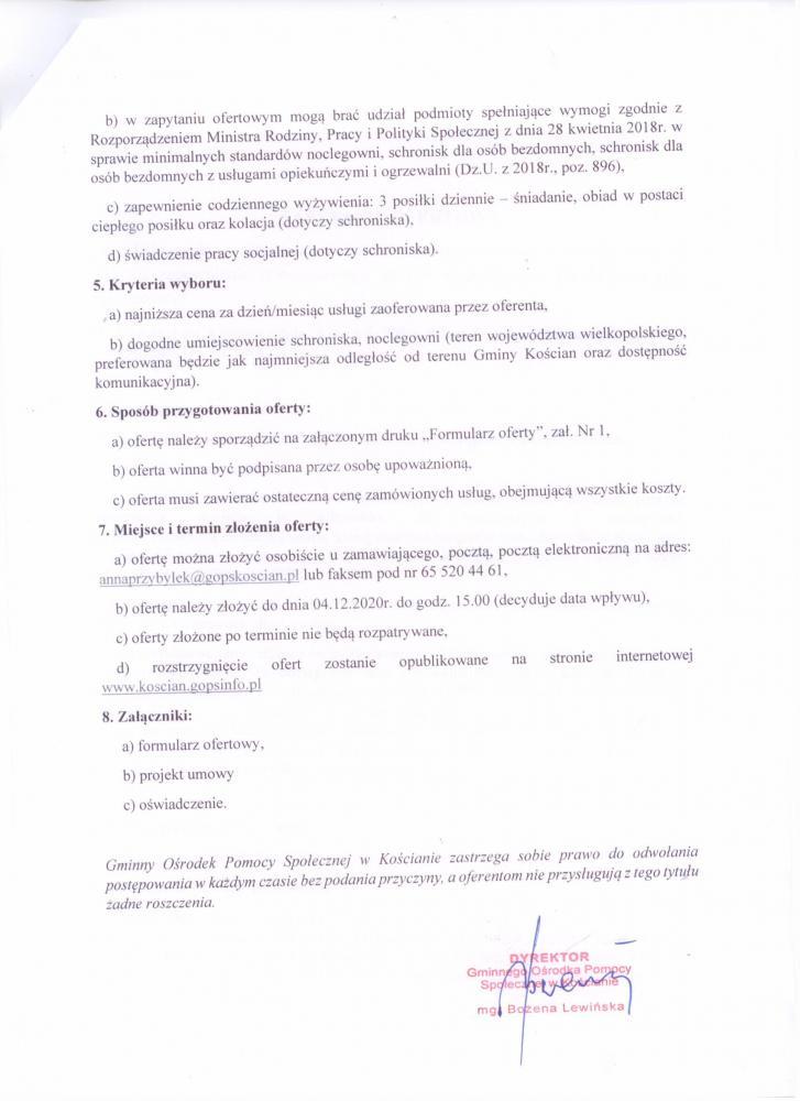 Zapytanie ofertowe str. 2