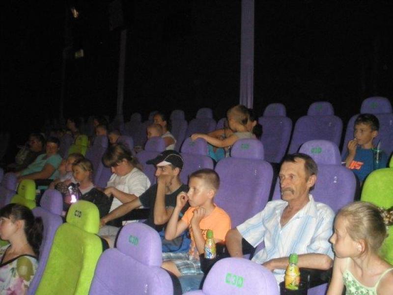 Relacja z wycieczki do kina w ramach projektu
