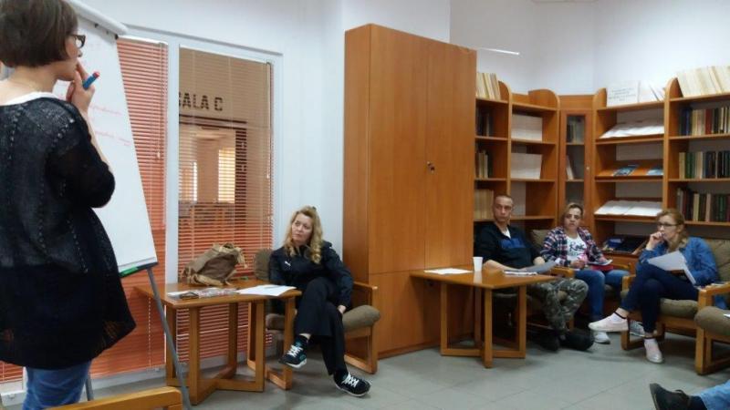 Warsztaty psychologiczne wyjazdowe dla uczestników projektu