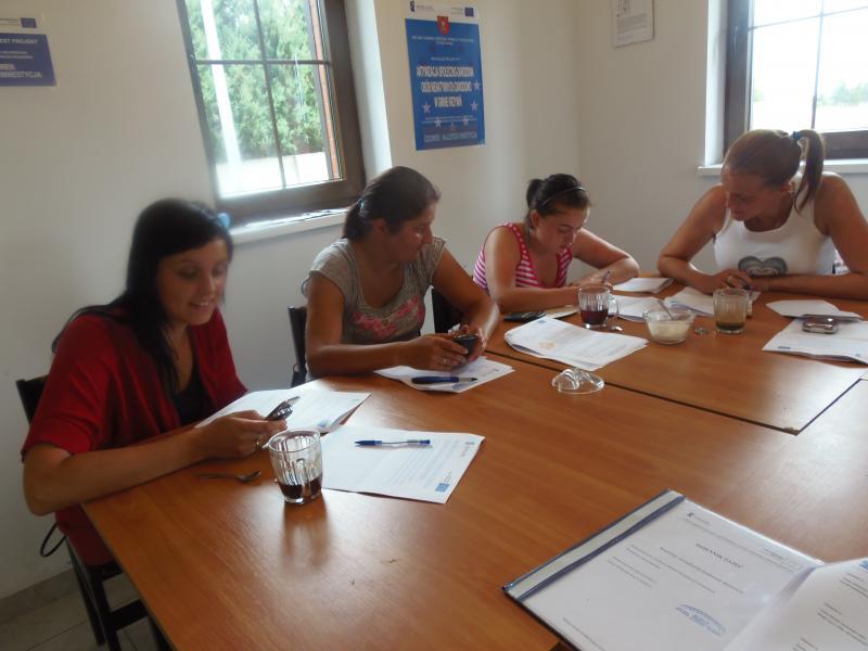 Warsztaty zarządzania budżetem domowym w ramach projektu