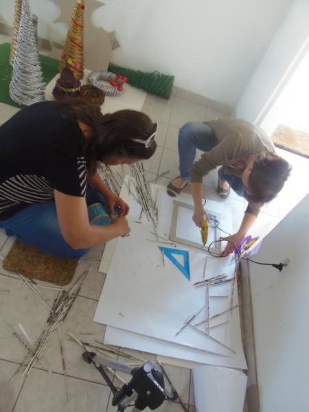 Kurs rękodzieła artystycznego w ramach projektu