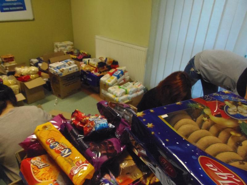 Mikołajkowa zbiórka żywności
