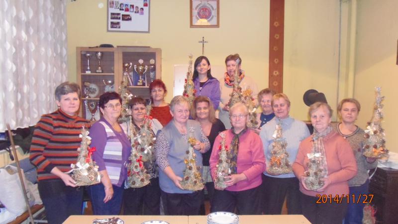 Warszataty w Klubie Seniora w Łagowie