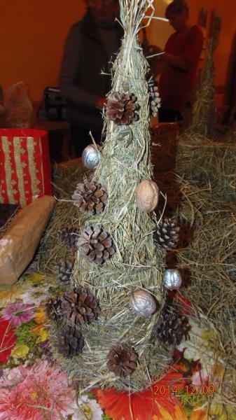 Choinki świąteczne w Kopaszewie