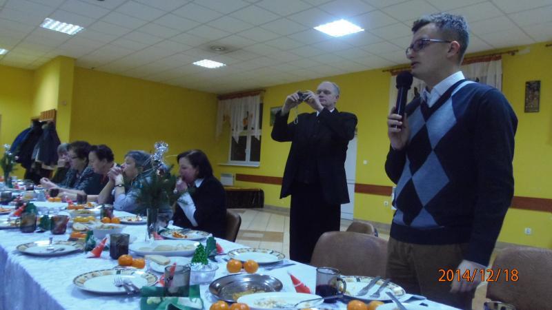 Spotkanie opłatkowe w Jurkowie