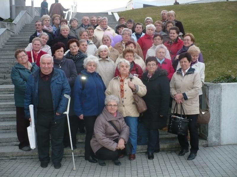 Aktywni seniorzy na targach poznańskich